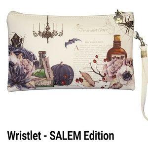 Nstilla Bags - Salem - Halloween wristlet/pouch